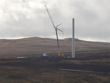 Turbine Erection